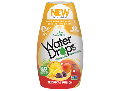 Picture of SWEAT LEAF TROPICAL PUNCH WATER DROPS 48ml
