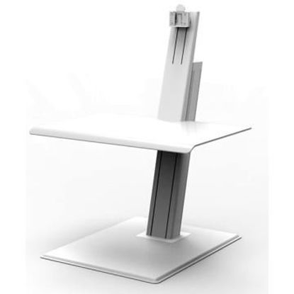 Picture of QUICKSTAND ECO SINGLE MONITOR IN WHITE