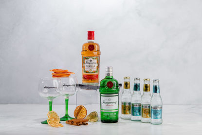Picture of TANQUERAY GIN SET GIFT BOX
