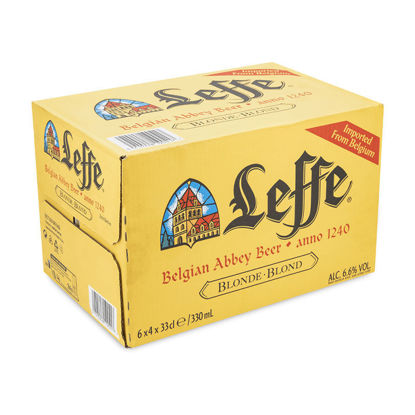 Picture of LEFFE BLONDE 24 X 330ML