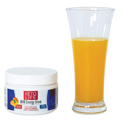 Picture of Keto Life BHB Energy Drink 100g -Mango Orange