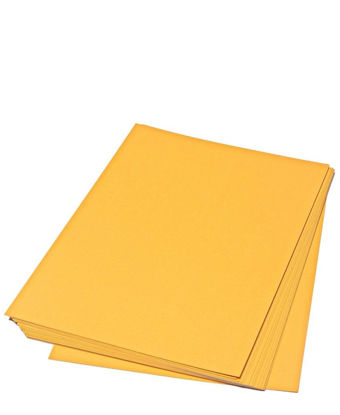 Picture of 20 Pack A4 Cardboard - Orange