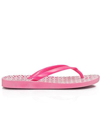 Picture of Ladies Fuschia Jelly Sandals - Sandals
