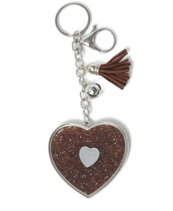 Picture of Key Ring - Brown