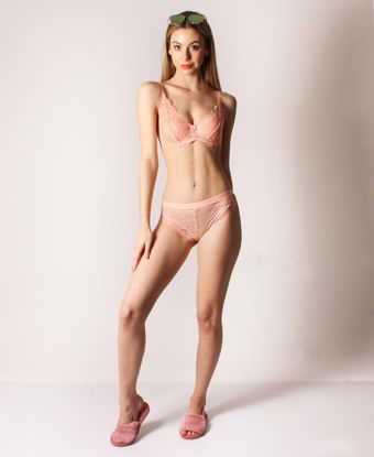 Picture of Lace Bikini Panty - Peach