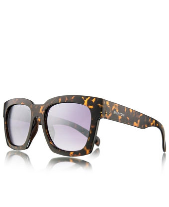 Picture of Ladies' Shiny Demi Sunglasses - Brown