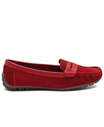 Picture of Leather Tunis - Red
