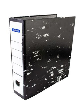 Picture of Marlin Lever Arch File - Black