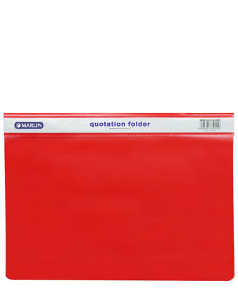 Picture of Marlin Quotation Folder - Red