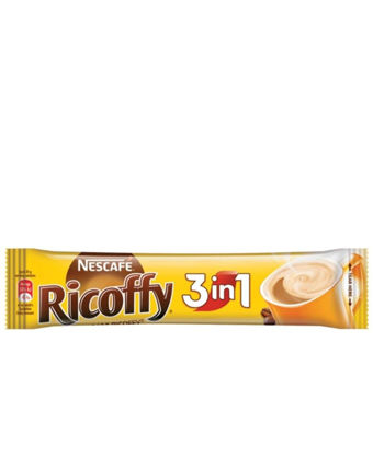 Picture of Nescafe Ricoffy 20g 3 In 1 - Black