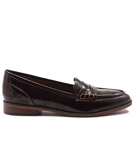 Picture of Penny Moccasin - Maroon