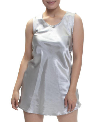 Picture of Plain Chemise - Silver