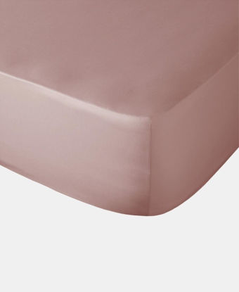 Picture of Polycotton Fitted Sheet - Blush