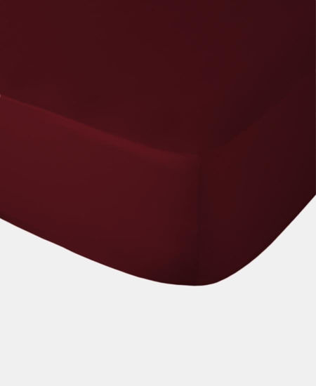 Picture of Polycotton Fitted Sheet - Wine