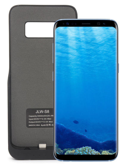 Picture of Samsung S8 Power Charging Case 5500mAh  - Black