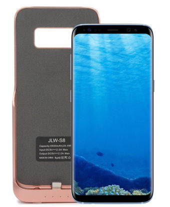 Picture of Samsung S8 Power Charging Case 5500mAh  - Rose Gold