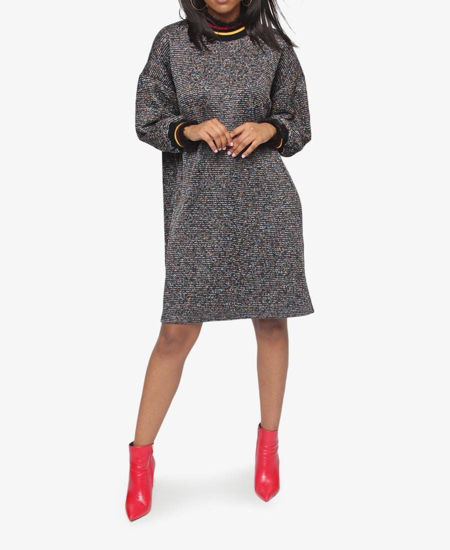 Picture of Shift Dress - Black