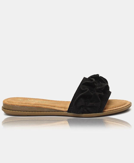 Picture of Slip On Sandals - Black