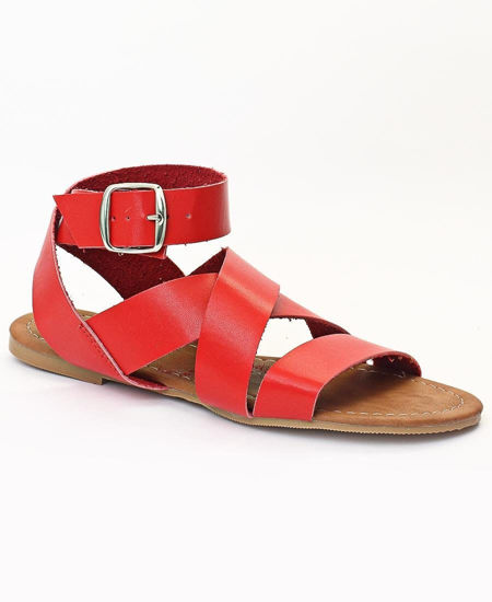 Picture of Strappy Sandals - Red
