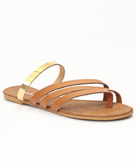 Picture of Strappy Sandals - Tan