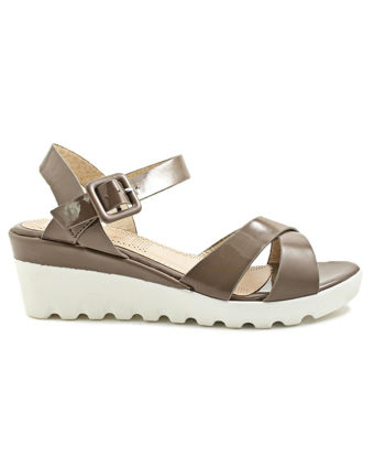 Picture of Ladies Taupe Wedge - Wedges