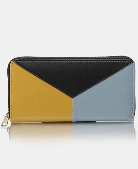 Picture of Zip Around Wallet - Black