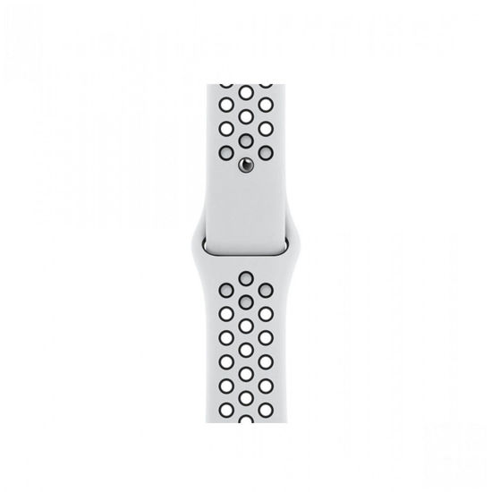 Picture of APPLE 44MM PURE PLATINUM/BLACK NIKE SPORT BAND