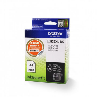 Picture of Brother Lc539Xlbk Ink Cartridge Black