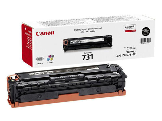 Picture of Canon Toner Black 1K Cartridge 731 Blk