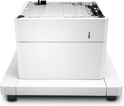Picture of HP LaserJet 1x550-Sheet Paper Feeder with Stand and Cabinet
