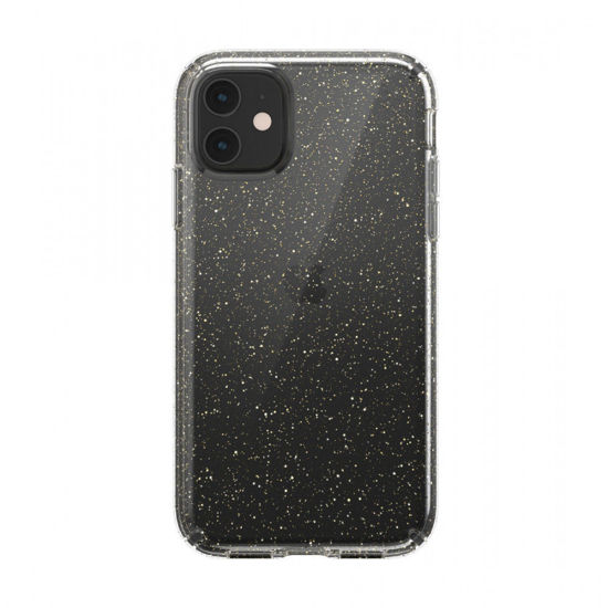 Picture of SPECK PRESIDO CLEAR GLITTER FOR IPHONE 11- CLEAR/GOLD