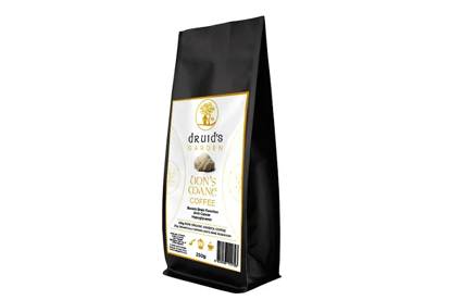Picture of DRUIDS GARDEN COFFEE LIONS MANE GROUND - 250G
