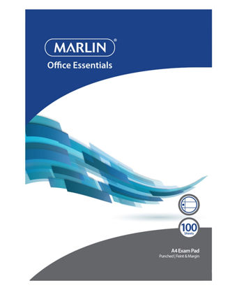 Picture of Marlin A4 Exam Pad - White