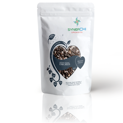 Picture of SYNERCHI BLACK CHIA SEEDS - 500G (CERTIFIED ORGANIC)