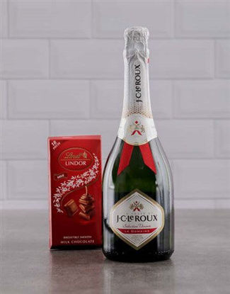 Picture of Red and White JC Le Roux Lindt Gift
