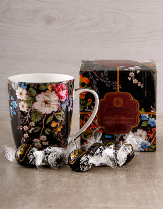 Picture of Delicate Floral Mug