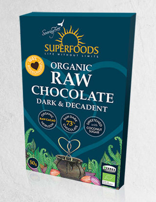 Picture of SUPERFOODS CHOCOLATE DARK & DECADENT - 50G