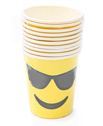 Picture of Emoji Paper Cups - Yellow