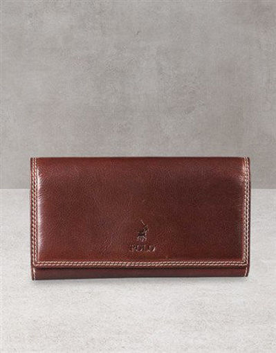 Picture of Polo Kenya Brown Pocket Wallet Gift